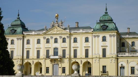 Branicki Palace in Bialystok